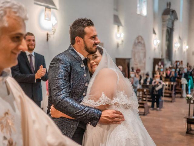 Il matrimonio di Gabriele e Irene a Poggibonsi, Siena 20