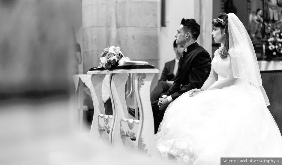 Il matrimonio di Alessio e Federica a San Gavino Monreale, Cagliari