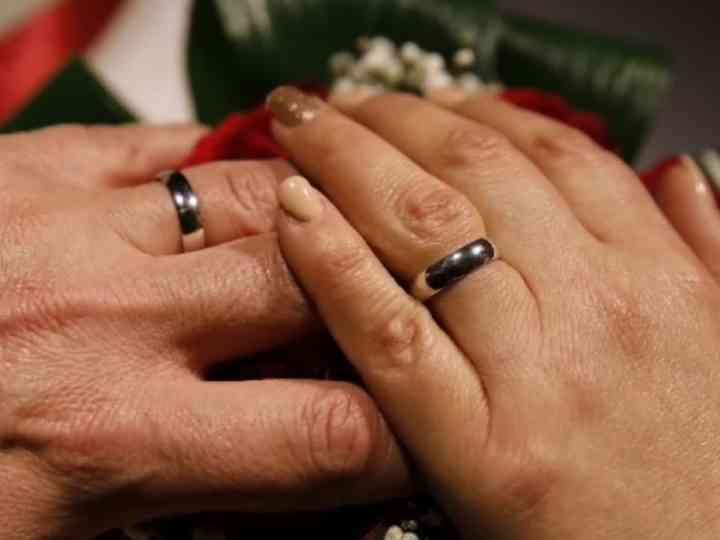 le nozze di Sergio e Laura