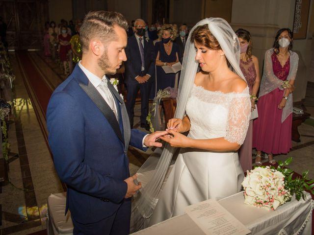 Il matrimonio di Fabio e Alessia a San Giuliano Vecchio, Alessandria 32