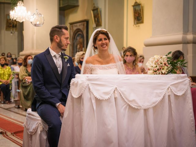 Il matrimonio di Fabio e Alessia a San Giuliano Vecchio, Alessandria 34