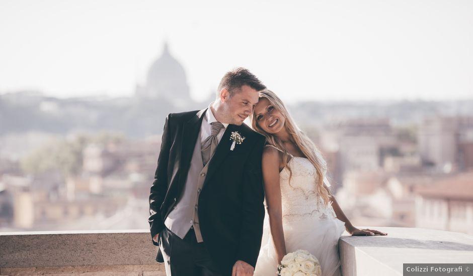 Il matrimonio di Davide e Romina a Roma, Roma
