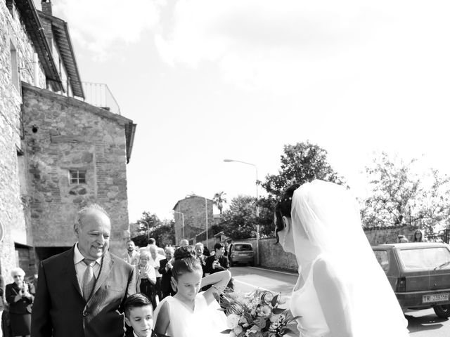 Il matrimonio di Paolo e Federica a Ficulle, Terni 7