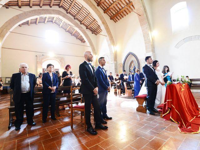 Il matrimonio di Paolo e Federica a Ficulle, Terni 11