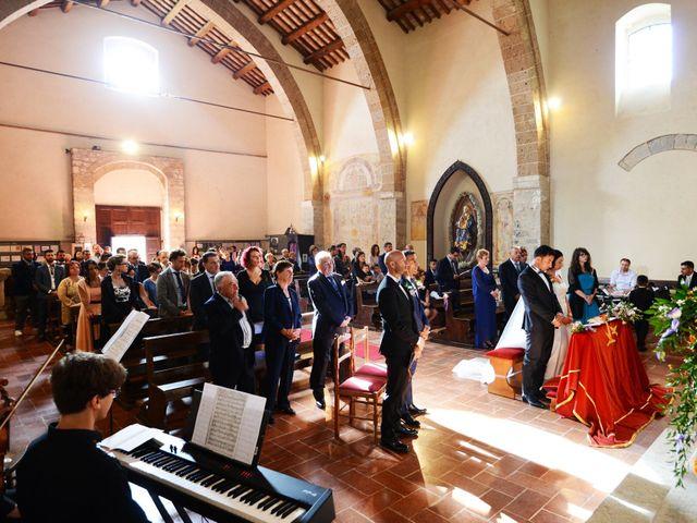 Il matrimonio di Paolo e Federica a Ficulle, Terni 13