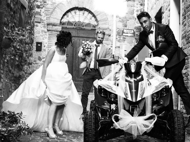 Il matrimonio di Paolo e Federica a Ficulle, Terni 17