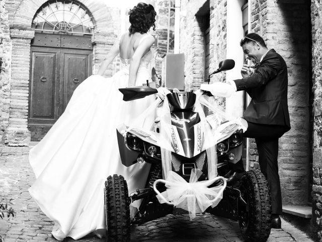 Il matrimonio di Paolo e Federica a Ficulle, Terni 18