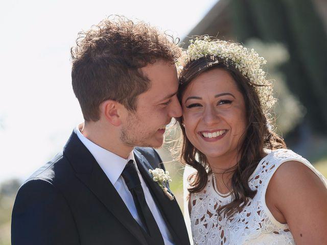 Le nozze di Antonella e Fabiano