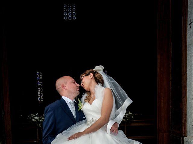 Il matrimonio di Luca e Gessica a Alzate Brianza, Como 17