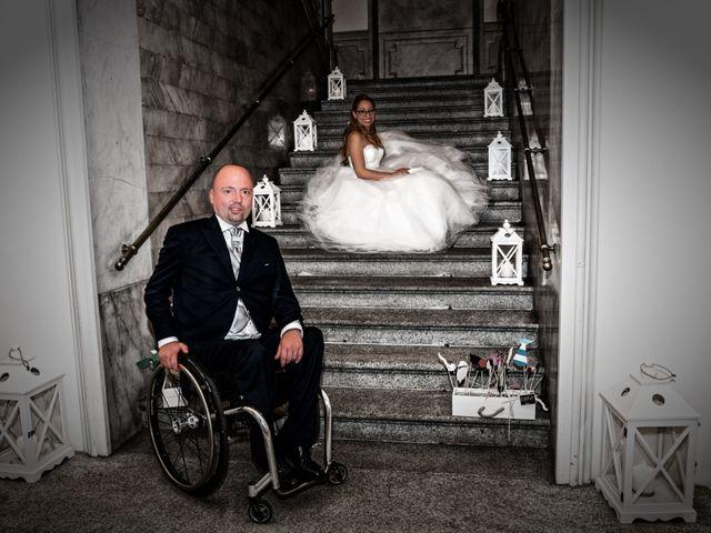 Il matrimonio di Luca e Gessica a Alzate Brianza, Como 24