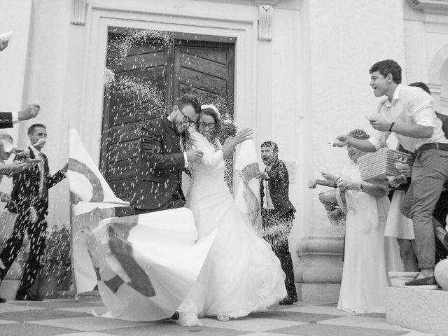 Il matrimonio di Davide  e Tiziana  a Volpago del Montello, Treviso 7