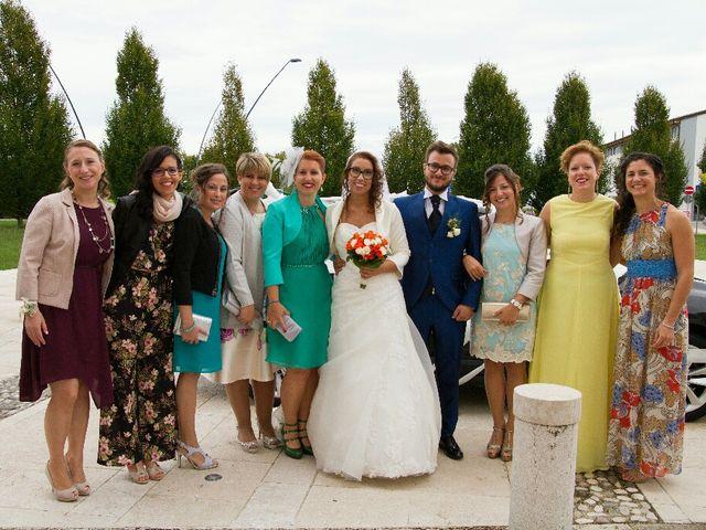Il matrimonio di Davide  e Tiziana  a Volpago del Montello, Treviso 8
