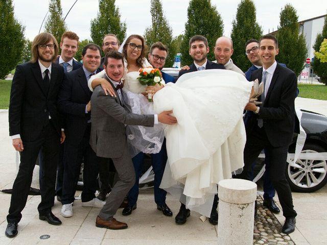 Il matrimonio di Davide  e Tiziana  a Volpago del Montello, Treviso 9