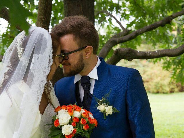 Il matrimonio di Davide  e Tiziana  a Volpago del Montello, Treviso 14