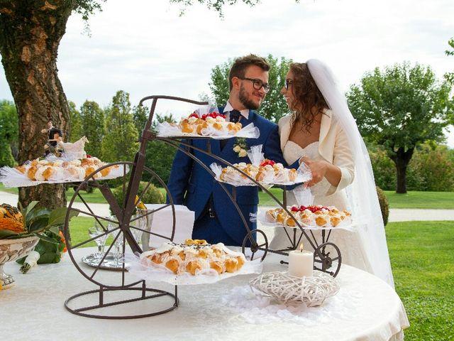 Il matrimonio di Davide  e Tiziana  a Volpago del Montello, Treviso 19