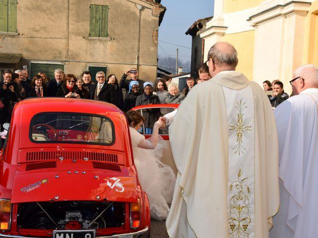 Il matrimonio di Samuele e Sara a Bagnolo San Vito, Mantova 50