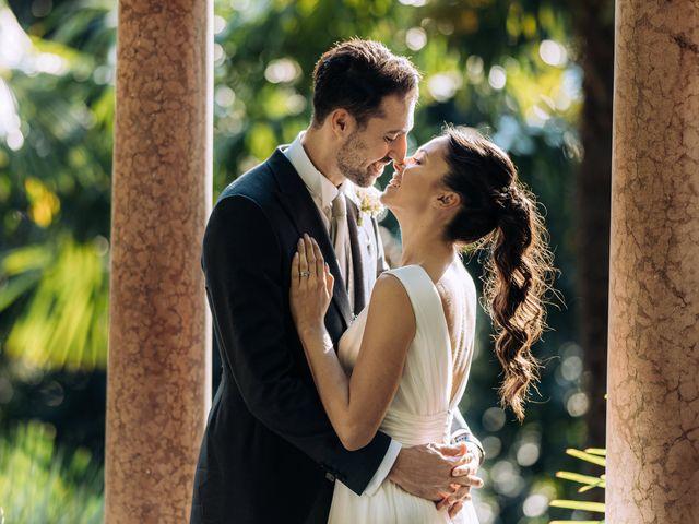 Le nozze di Tahita e Thomas