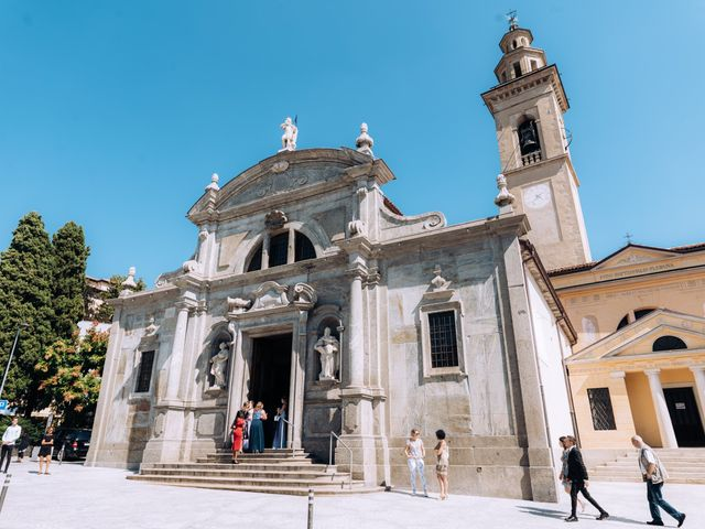 Il matrimonio di Thomas e Tahita a Balerna, Ticino 24