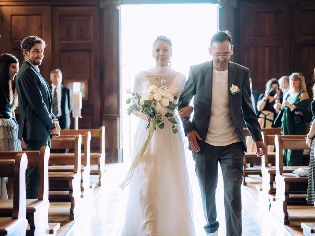 Il matrimonio di Thomas e Tahita a Balerna, Ticino 30