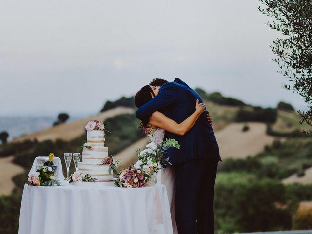 Il matrimonio di Enrico e Michela a Cingoli, Macerata 43