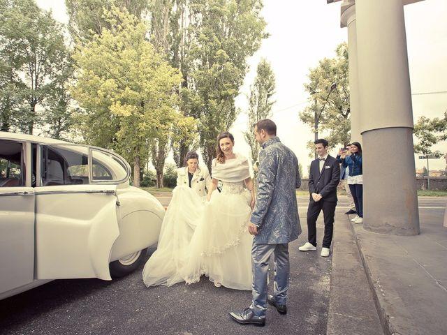 Il matrimonio di Luca e Jennifer a Rudiano, Brescia 66