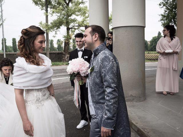 Il matrimonio di Luca e Jennifer a Rudiano, Brescia 74