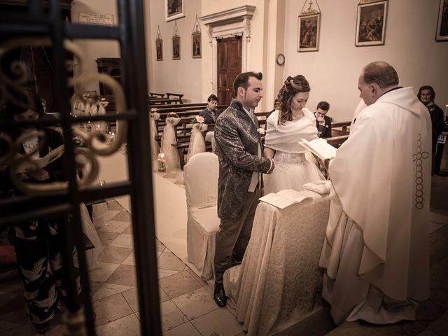Il matrimonio di Luca e Jennifer a Rudiano, Brescia 79