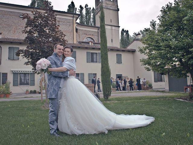 Il matrimonio di Luca e Jennifer a Rudiano, Brescia 89