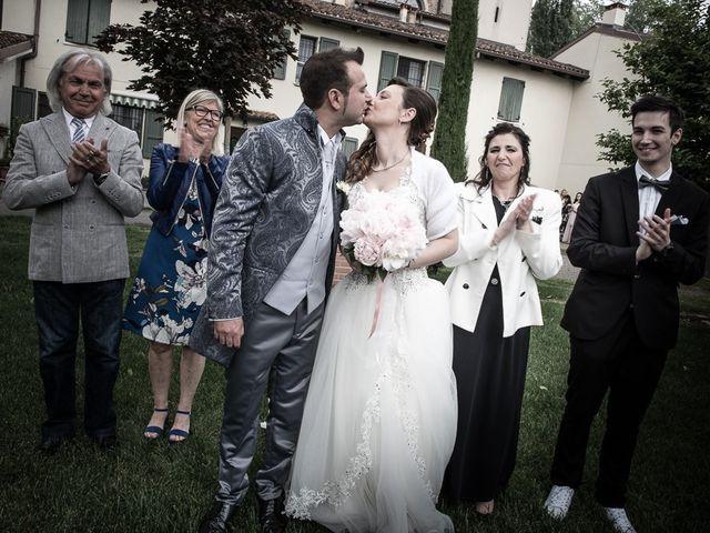 Il matrimonio di Luca e Jennifer a Rudiano, Brescia 93