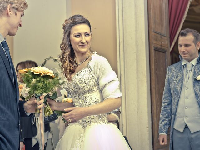 Il matrimonio di Luca e Jennifer a Rudiano, Brescia 97