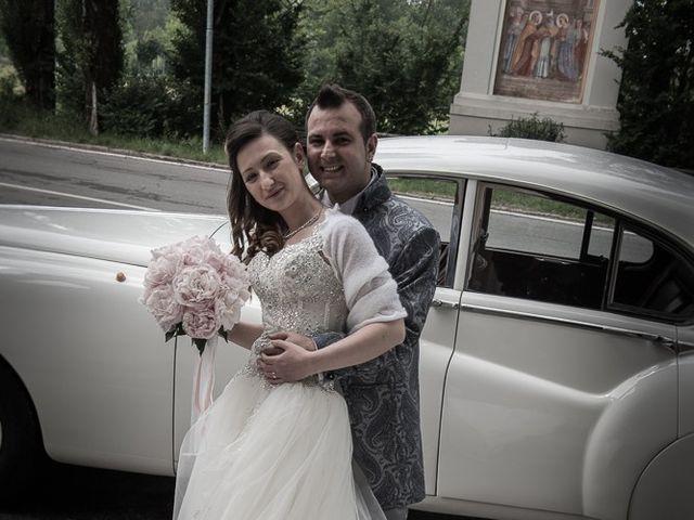 Il matrimonio di Luca e Jennifer a Rudiano, Brescia 98