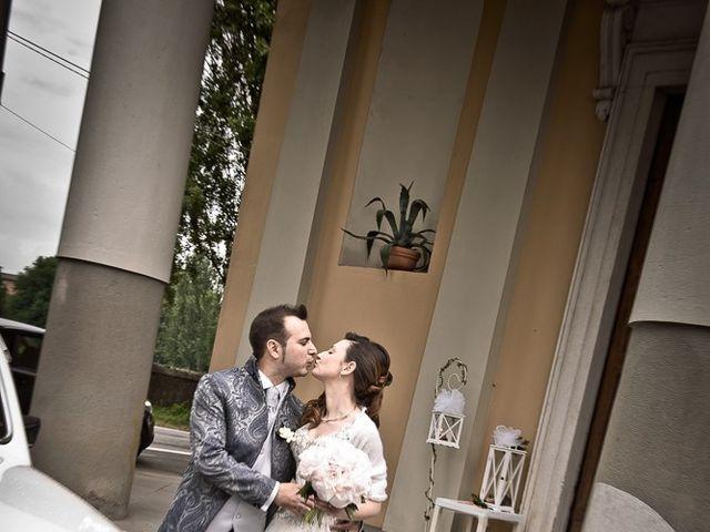 Il matrimonio di Luca e Jennifer a Rudiano, Brescia 99
