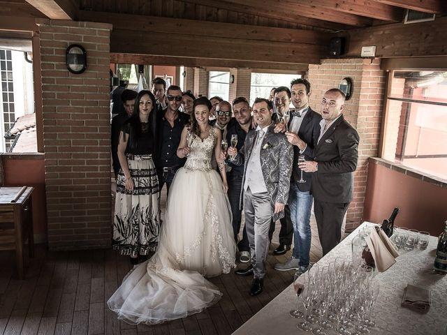 Il matrimonio di Luca e Jennifer a Rudiano, Brescia 103