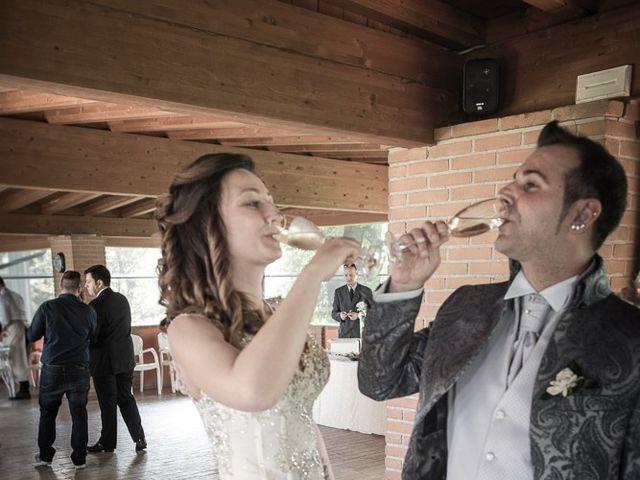 Il matrimonio di Luca e Jennifer a Rudiano, Brescia 104