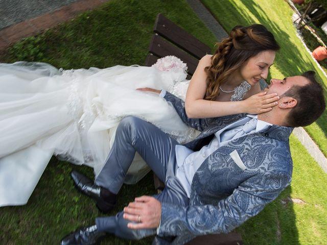 Il matrimonio di Luca e Jennifer a Rudiano, Brescia 128