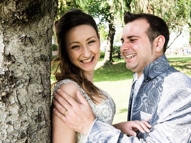 Il matrimonio di Luca e Jennifer a Rudiano, Brescia 2