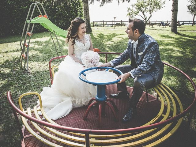 Il matrimonio di Luca e Jennifer a Rudiano, Brescia 140