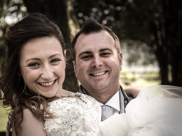 Il matrimonio di Luca e Jennifer a Rudiano, Brescia 160