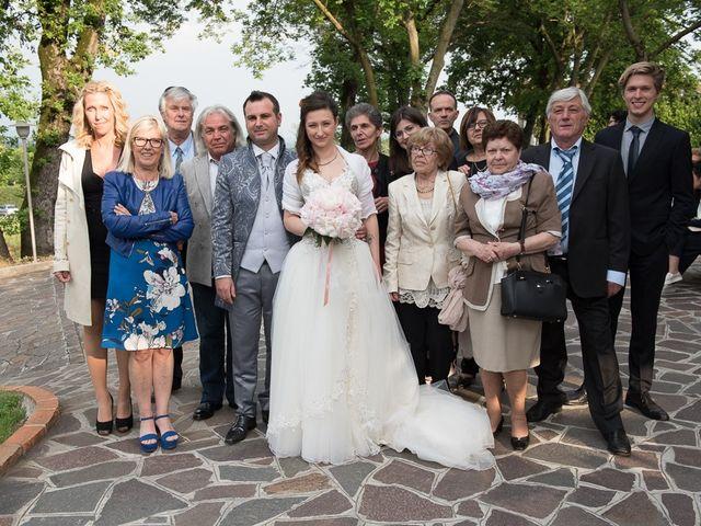 Il matrimonio di Luca e Jennifer a Rudiano, Brescia 168