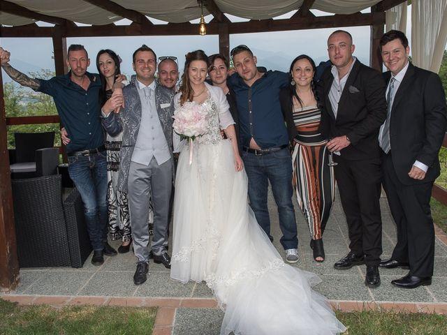 Il matrimonio di Luca e Jennifer a Rudiano, Brescia 173