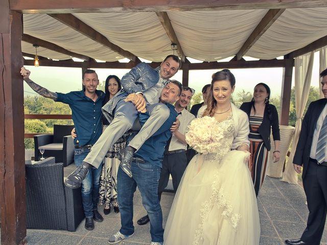 Il matrimonio di Luca e Jennifer a Rudiano, Brescia 174