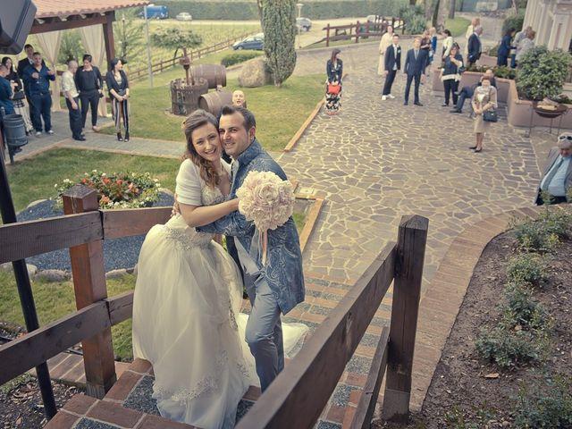 Il matrimonio di Luca e Jennifer a Rudiano, Brescia 180
