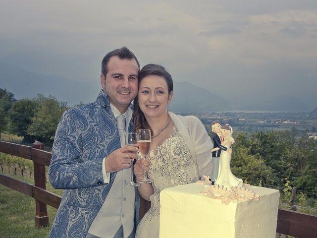Il matrimonio di Luca e Jennifer a Rudiano, Brescia 183