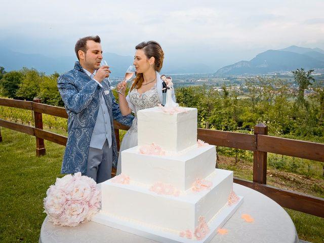 Il matrimonio di Luca e Jennifer a Rudiano, Brescia 184