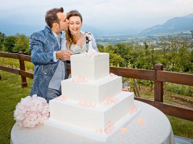 Il matrimonio di Luca e Jennifer a Rudiano, Brescia 185