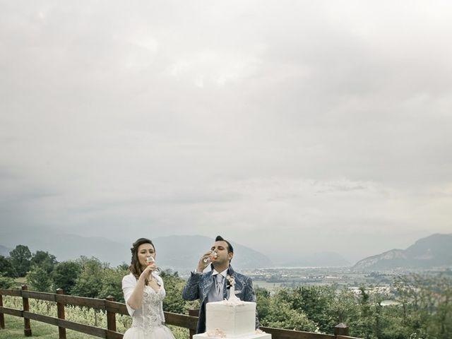 Il matrimonio di Luca e Jennifer a Rudiano, Brescia 188