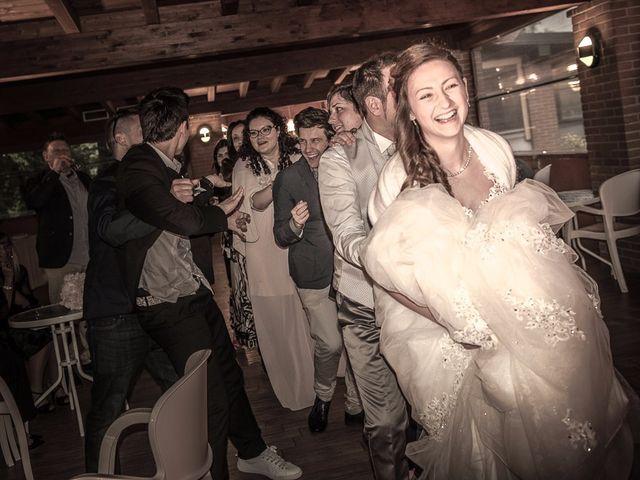 Il matrimonio di Luca e Jennifer a Rudiano, Brescia 194
