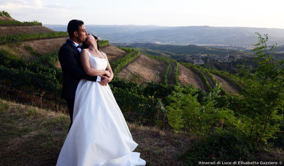 Il matrimonio di Paolo e Federica a Ficulle, Terni