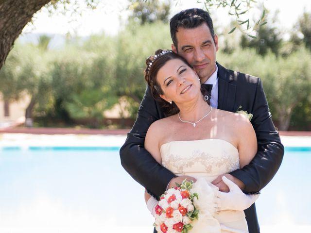 le nozze di Gabriella e Stefano