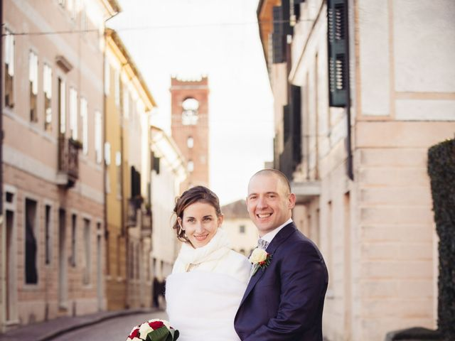Il matrimonio di Dario e Elena a Crocetta del Montello, Treviso 15